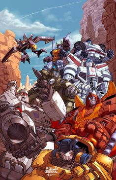 Transformers by Mark Brooks *