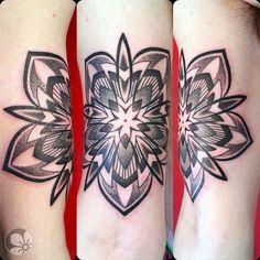 [www.tattoou.co.il :טאטו יו - כל מה שרצית לדעת על קעקועים] --- #mandala #tattoo #קעקוע# מנדלה