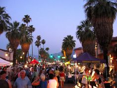 #PalmSprings VillageFest: Arts, crafts, dining and shopping ... Every Thursday.