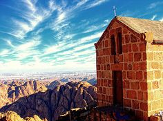 On top of Mount Sinai..early, early morning. One of life's most captivating moments.