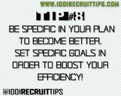 @1001 Recruit Tips