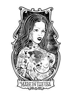 Pretty-Girls-Skate-and-Tattoos-Pin-Ups-by-Mike-Giant-16