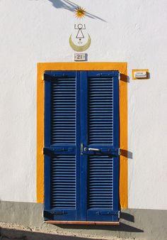 Calasetta, isola di Sant'Antioco ( #Sardinia) - #door