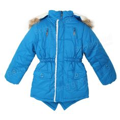 Kids Boys Wool Pockets Thick Coat Winter Outerwear Clothing at Banggood