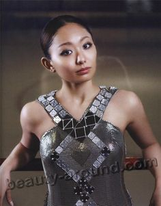 Miki Ando (December 18, 1987) - beautiful Japanese figure skater. She is the 2007 and 2011 World champion, 2011 Four Continents champion, 2004 World Junior champion, and a three-time (2004, 2005 & 2010) Japanese national champion. Ando is the first and only female skater to complete a quadruple jump successfully in competition. She accomplished this at the 2002–2003 Junior Grand Prix Final in The Hague.  Подробнее: http://beauty-around.com/en/tops/item/874-most-beautiful-figure-skaters