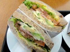 Avocado-Bacon Sandwich von Dean & Deluca
