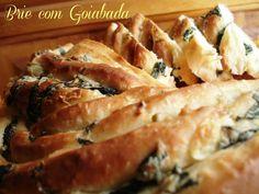 Brie com Goiabada: Trança de Espinafre e Azeitonas - World Bread Day
