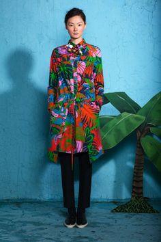 Ethnic inspired fashion. Prints. Suno Resort 2012.