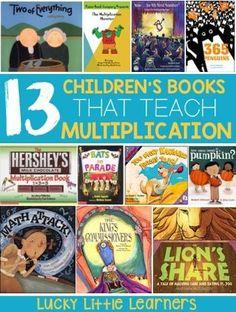 incorporate story books into math lessons. Math For Kids, Fun Math, Math Math, Math Help, Maths, Learn Math, Math Tutor, Kindergarten Math, Teaching Multiplication