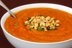 A delicious African peanut soup recipe that everyone will love! Detailed recipe and photos included.