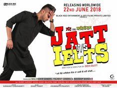 Jatt Vs Ielts is Latest Punjabi Comedy Movie.Star Casts by Ranvneet Singh,Gurpreet SIngh Ghuggi,Khyali,Khushi Malhotra and many more stars.Movie will release on 22 - technologyfl Punjabi Comedy, Star Cast, Comedy Movies, Ielts, Official Trailer, Puns, Movie Stars, Entertainment, Black