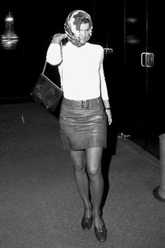 16 Style Lessons to Learn from Jackie Kennedy - Dress Up a Basic Tee from InStyle.com