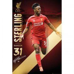 SoccerGaga.com - OFFICIAL Liverpool F.C. Poster Sterling 83, $18.99 (http://www.soccergaga.com/liverpool-f-c-poster-sterling-83/)