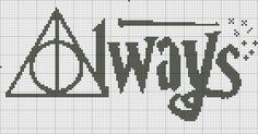 Always Harry Potter For bimbosite steak or cross stitch in Etsy . Always Harry Potter For bimbosite steak or cross stitch in Etsy Cross Stitch Bookmarks, Counted Cross Stitch Patterns, Cross Stitch Charts, Cross Stitch Designs, Cross Stitch Embroidery, Embroidery Patterns, Wedding Cross Stitch Patterns, Disney Cross Stitch Patterns, Cross Stitch Tree