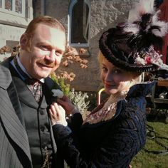We miss Ruby Ogden ! seen here with Inspector Charles Brackenreid (Thomas Craig) Mystery Tv Series, Murdock Mysteries, Image Paris, Detective Shows, Victorian Costume, Anne Of Green Gables, Sharp Dressed Man, Music Tv, Vintage Outfits