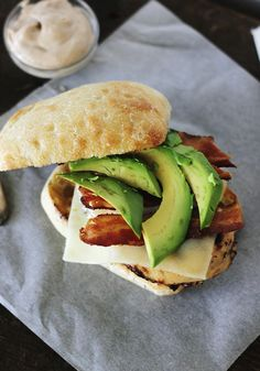 Chicken Bacon Avocado Sandwiches with Balsamic Mayo @Matt Valk Chuah Merrythought
