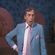 Shut that door, Larry Grayson. Larry Grayson (31 August 1923 – 7 January 1995), born William Sulley White, was an English comedian and television presenter who reached the peak of his fame in the 1970s and early '80s. He is best remembered for hosting the BBC's popular series The Generation Game and for his high camp and English music hall humour. Died at 71 from a perforated appendix.