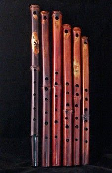 Bamboo Flutes. I love the sound of these!