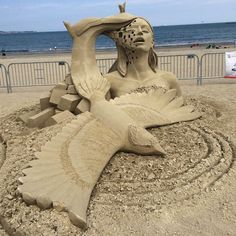 Masterfully Crafted Sand Sculptures at the 2015 Revere Beach International Sand Sculpting Festival - My Modern Met