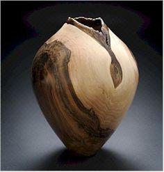 Hollow form by Bob McKay.