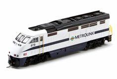 Athearn N 23720 EMD F59PHI, Metrolink #878 | ModelTrainStuff.com
