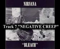 """Nirvana - Negative Creep """"I felt weak then, too weak to fight back, too weak to complain, so I just stayed in bed and listened to Kurt Cobain promclaiming himself to be a negative creep"""" to the novel Just My Luck, Nirvana Kurt Cobain, Love Time, Old Music, Cover Songs, Spoken Word, Music Publishing, Music Songs, Soundtrack"""