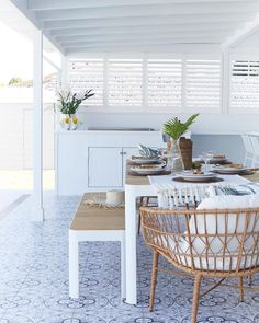 Join our Three Birds Reno School where we share all our insider tips and tools on how to plan and manage your very own renovations. Pool House Decor, House Deck, Outdoor Bbq Kitchen, Outdoor Kitchen Design, Outdoor Kitchens, Outdoor Living Rooms, Outdoor Dining, Outdoor Seating, Shutters Inside