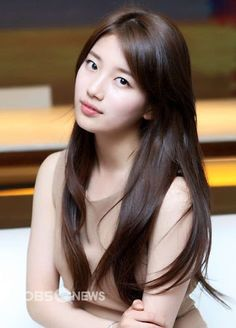 Image result for straight long hair korean