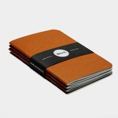 Orange (3pk) / Word Notebooks