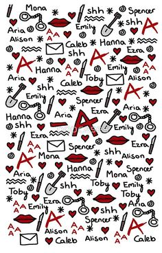 "A phone case to show off your PLL Army allegiance. 17 Gifts Only True ""Pretty Little Liars"" Fans Will Want Caleb And Hanna, Preety Little Liars, Pretty Little Liars Quotes, Films Netflix, Wallpapers Tumblr, I'm Still Here, Best Shows Ever, Iphone Wallpaper, Geek Stuff"
