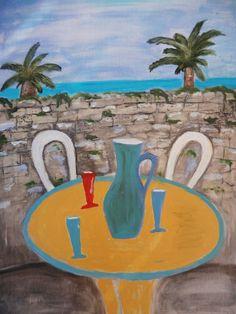 Summer Painting, Acrylic Painting Canvas, Contemporary Artists, Printmaking, Pop Art, Original Art, Abstract Art, Art Prints, Artwork
