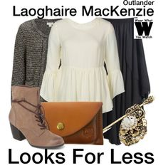 A looks for less inspired by Nell Hudson as Laoghaire MacKenzie on Outlander. Cute Modest Outfits, Modern Outfits, Modern Clothing, Clothing Styles, Vintage Clothing, Business Fashion, Business Style, Modest Fashion, Fashion Outfits