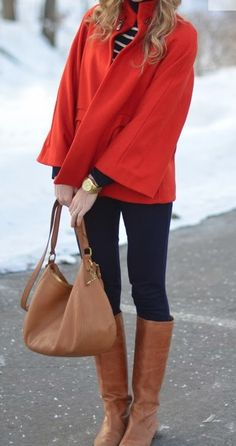 Adorable red jacket