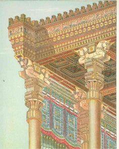 ((ACHAEMENID - for tent reference)) Achaemenid Architecture  #Achaemenid