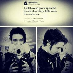 Andy biersack. That last pic. Ohmygosh so cute