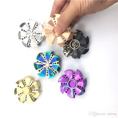Cheap spinner toy, Buy Quality spin toy directly from China spinner Suppliers: Hot EDC Finger Spinner Rose Turbine Fidget Spin Focus Toy Stress Relief for Adult/Kids Professional Hand Spinners Toys Figget Spinner, Diy Fidget Spinner, Cool Fidget Spinners, Novelty Toys, Novelty Gifts, Hand Fidgets, Gifts For Golfers, Lol, Fidget Toys