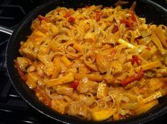 Thai Curry with Mango using our Thai Curry Fresh Sauce