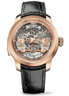 Girard-Perregaux Minute Repeater Tourbillon Ponti d'Oro Fine Watches, Cool Watches, Watches For Men, Men's Watches, Grand Prix, Rolex Women, Girard Perregaux, Gq, Latest Watches