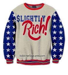 U.S.A Slighty Rich Crewneck