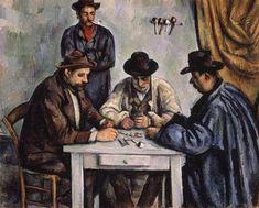 Les joueurs de cartes (II), par Paul Cézanne