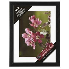 Studio Décor® Home Collection Flat Frame, Black 8x10 9x12