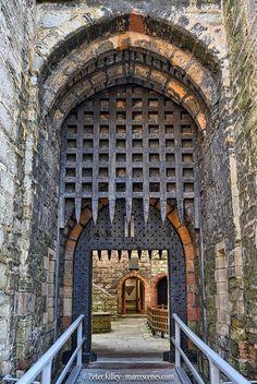 Castle Rushen Portcullis  Peter Killey -