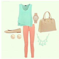 Minus the necklace great summer outfit for work