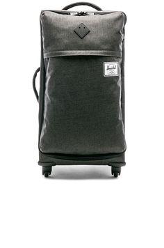 63b61ac7409 Shop for Herschel Supply Co. Highland Medium Suitcase in Black Crosshatch  at REVOLVE.