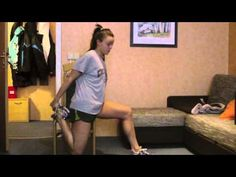 Exercises to loosen hip flexors and how to RELEASE hip flexor. (That sounds painful and involves a tennis ball...)