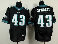 Nike Philadelphia Eagles #43 Darren Sproles 2014 Black Elite Jersey