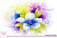 MarieLune Design: Aquarelle • Watercolor