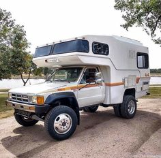 "See our web site for more information on ""rv financing"". It is actually a superb place to find out more. 4x4 Camper Van, Truck Bed Camper, Off Road Camper, Truck Camping, Van Camping, Camper Trailers, Toyota Motorhome, Toyota Camper, Toyota Trucks"