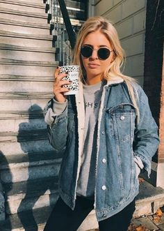 50+ Fall Street Style Outfits Ideas For Women  #ReadyToMeal #StreetStyles #WomenStreetStyles
