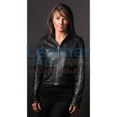 Steel Women Leather jacket is extremely light weight jacket, made from perforated cowhide which has gone under various wax finishing to give this light weight jacket durability, It dose not have lining so it can be warn as a shirt as well